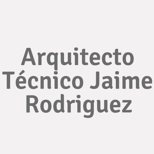 Arquitecto Técnico Jaime Rodriguez