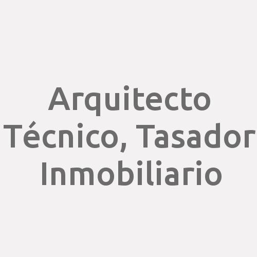 Arquitecto Técnico, Tasador Inmobiliario