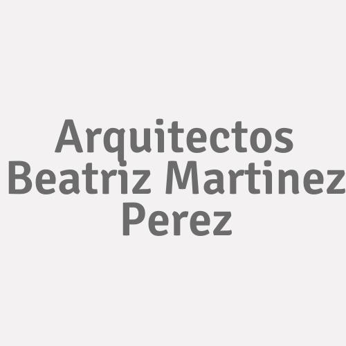 Arquitectos Beatriz Martinez Perez