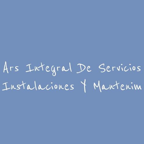 Ars Integral De Servicios Instalaciones Y Mantenim
