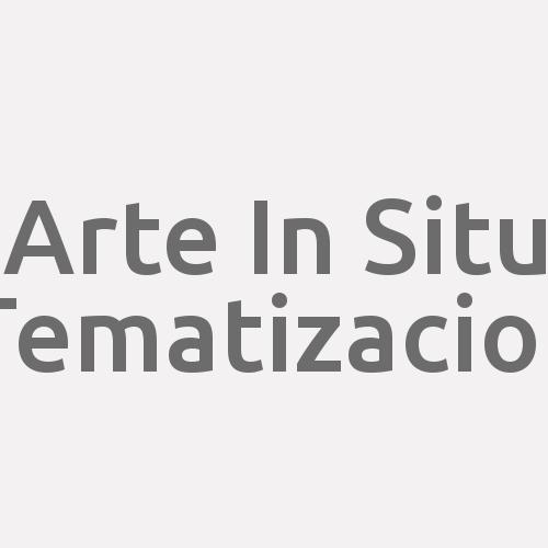 Arte In Situ Tematizacion
