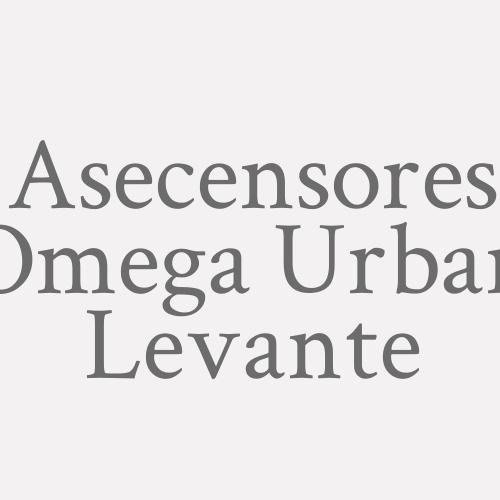 Ascensores Omega Urban Levante