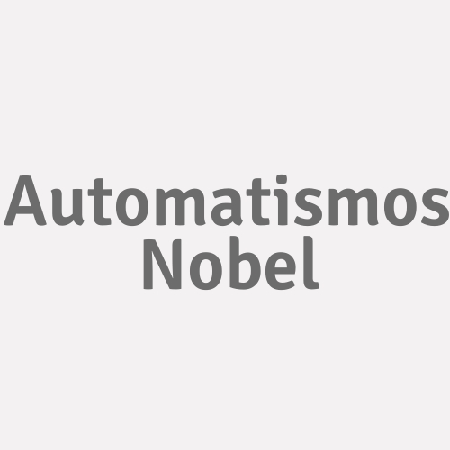 Automatismos Nobel