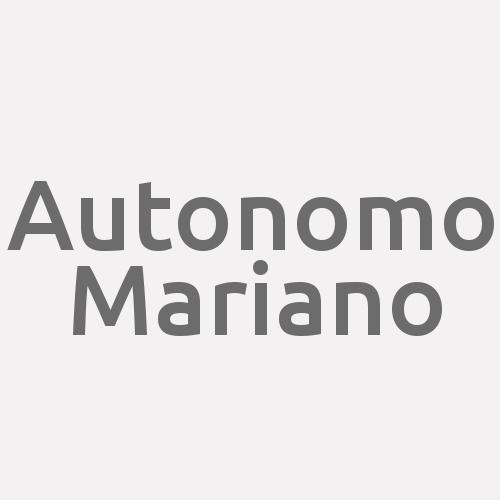 Autonomo Mariano