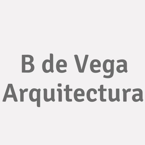 B De Vega Arquitectura