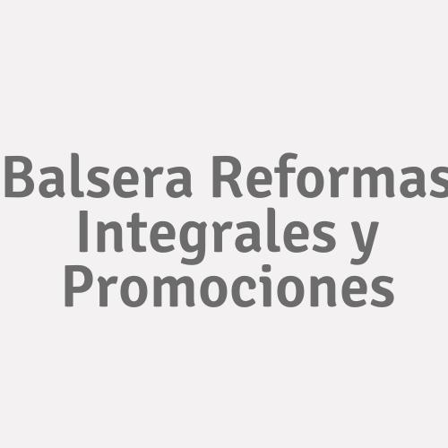 Balsera Reformas Integrales y Promociones