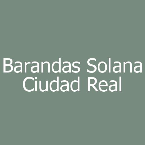 Barandas Solana Ciudad Real