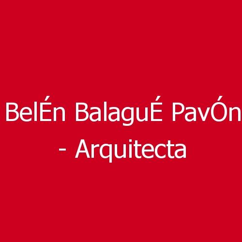 Belén Balagué Pavón - Arquitecta