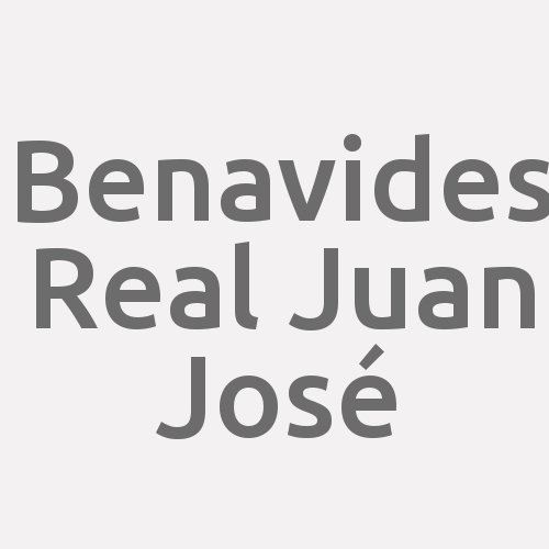 Benavides Real  Juan José