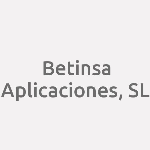 Betinsa Aplicaciones, S.l.