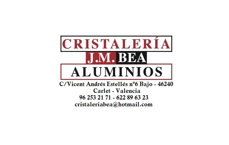 Cristalería Aluminios J.m. Bea