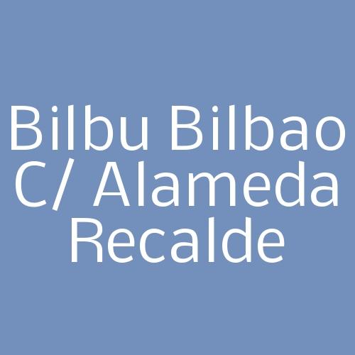 Bilbu Bilbao c/ Alameda Recalde