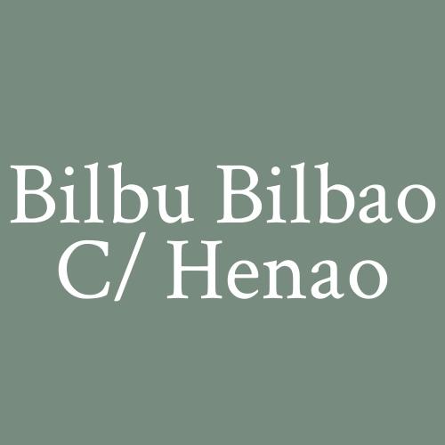 Bilbu Bilbao c/ Henao