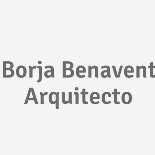 Borja Benavent Arquitecto