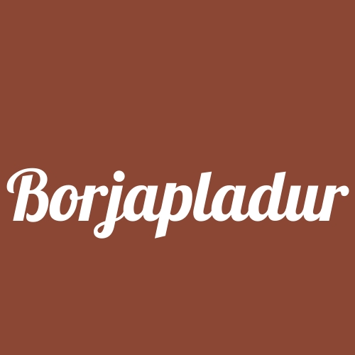 Borjapladur