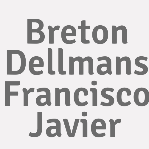 Breton Dellmans Francisco Javier