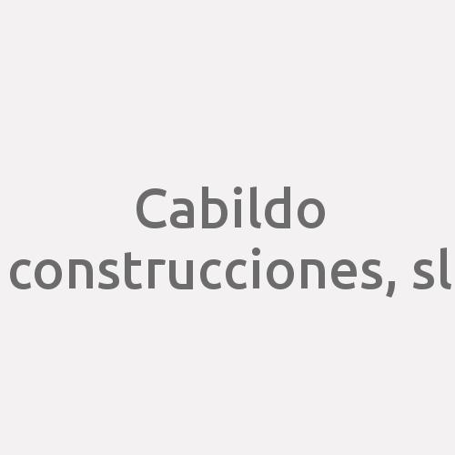 Cabildo Construcciones, S.l.