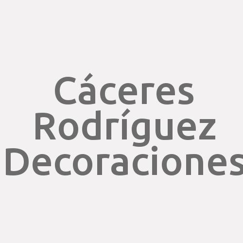 Cáceres Rodríguez Decoraciones