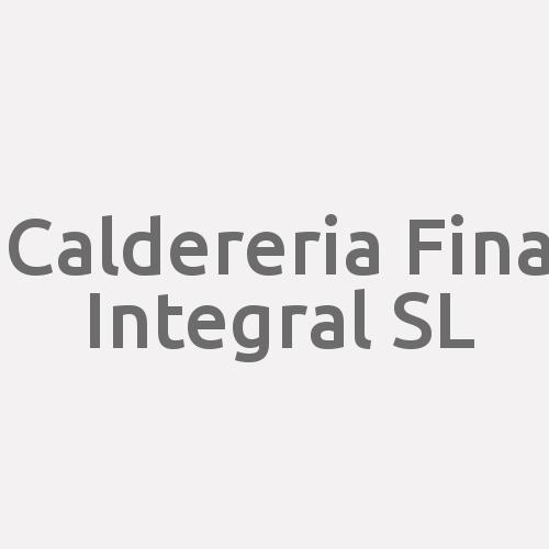 Caldereria Fina Integral S.l