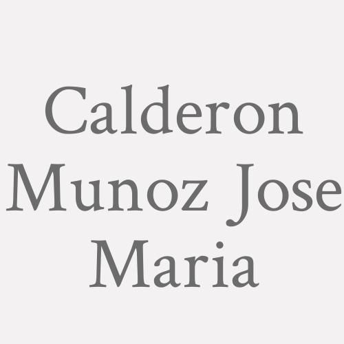Calderon Munoz Jose Maria