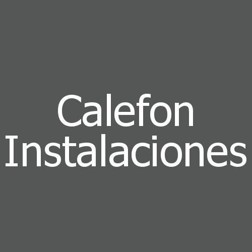 Calefon Instalaciones