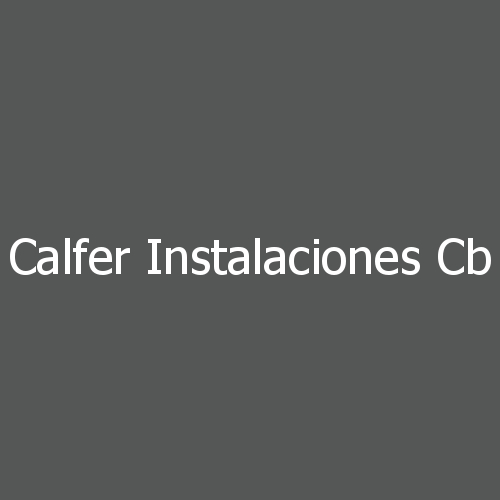 Calfer Instalaciones CB