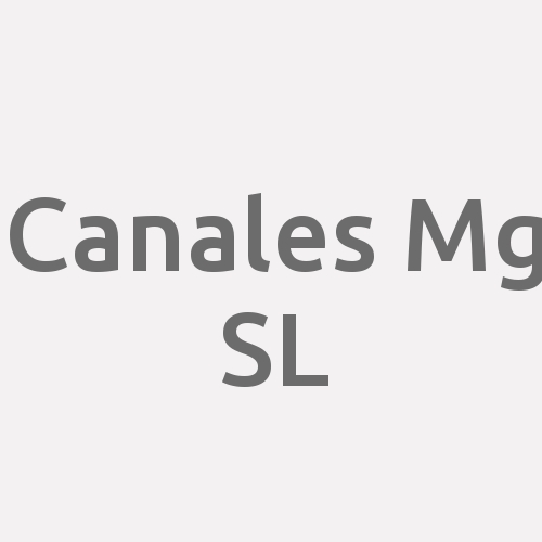 Canales Mg S.l.