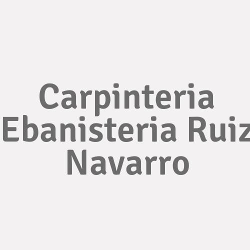 Carpinteria Ebanisteria Ruiz Navarro