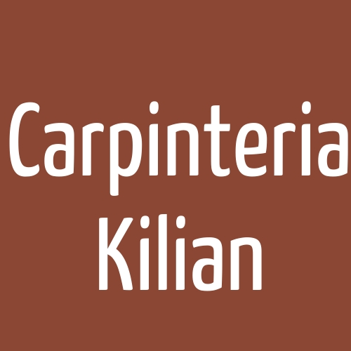 Carpinteria Kilian