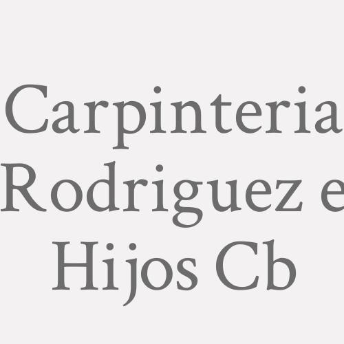 Carpinteria Rodriguez E Hijos Cb