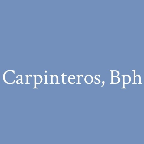 Carpinteros BPH