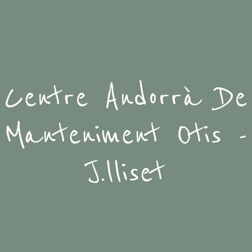Centre Andorrà de Manteniment Otis - J.Lliset
