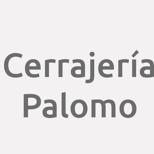 Cerrajería Palomo