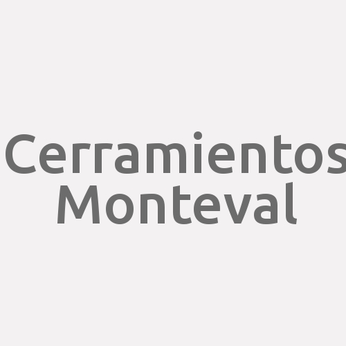 Cerramientos Monteval