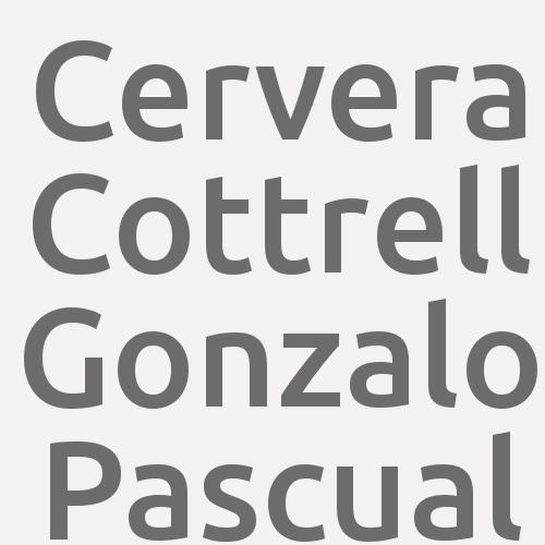 Cervera Cottrell Gonzalo Pascual