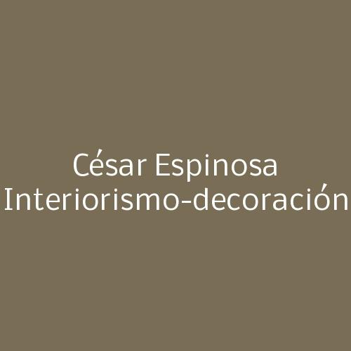 César Espinosa Interiorismo-decoración