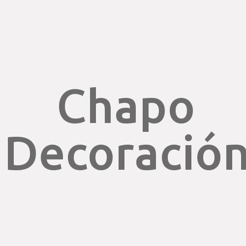 Chapo Decoración