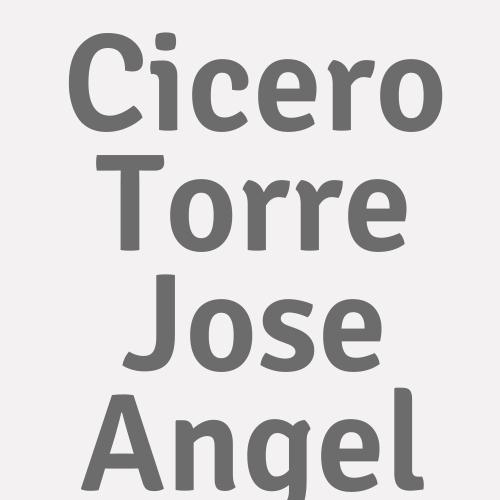 Cicero Torre  Jose Angel