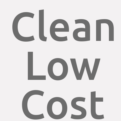 Clean Low Cost