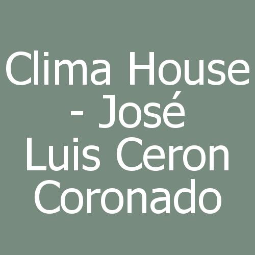 Clima House - José Luis Ceron Coronado