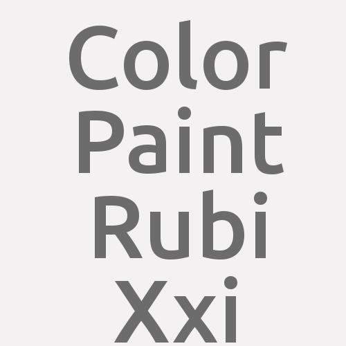 Color Paint Rubi Xxi