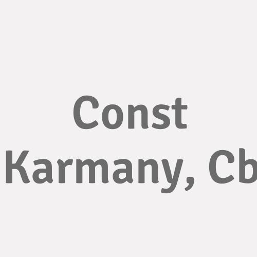 Const Karmany, Cb
