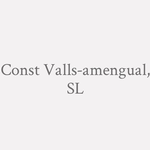 Const Valls-amengual, SL