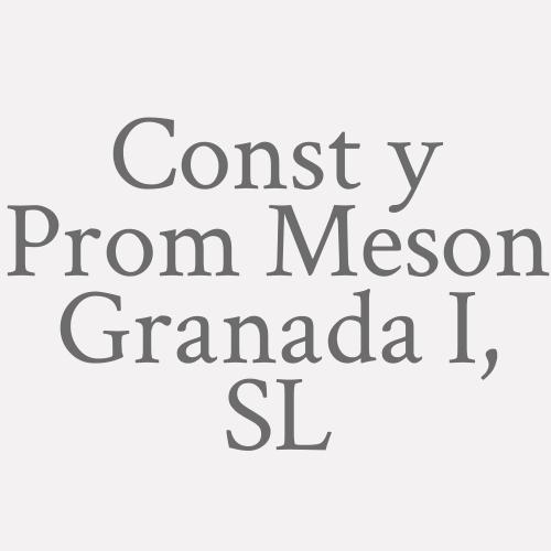 Const y Prom Meson Granada I, SL