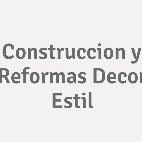 Construcción Y Reformas Decor Estil