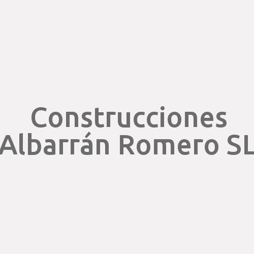 Construcciones Albarrán Romero S.l.