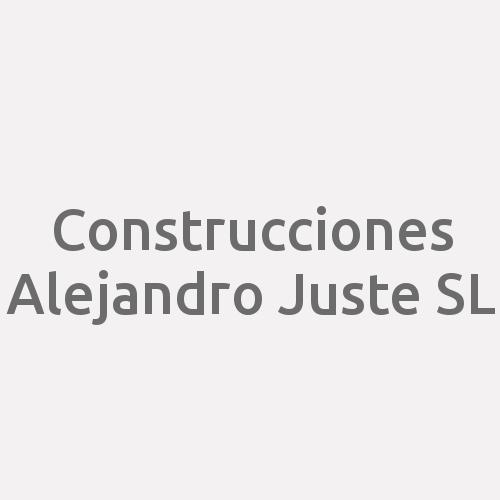 Construcciones Alejandro Juste sl