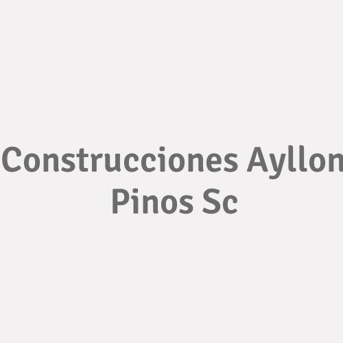 Construcciones Ayllon Pinos Sc.