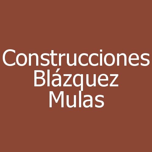 Construcciones Blázquez Mulas