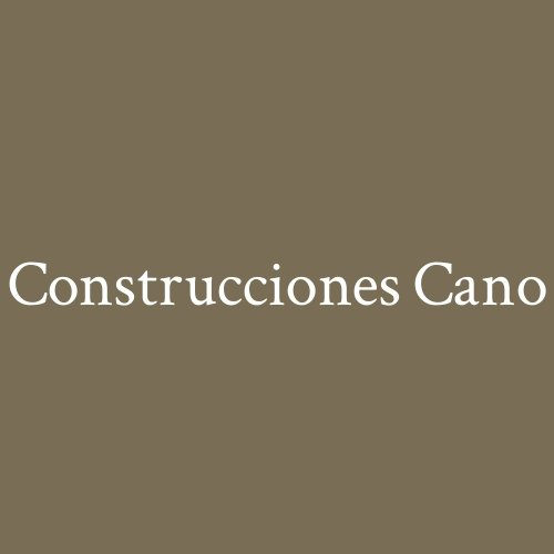 Construcciones Cano